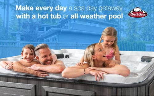 make every day a spa day getaway with a hot tub or all weather pool